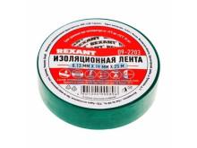 Изолента 19 мм х 25 м, зеленая (упак. 5 роликов)  REXANT