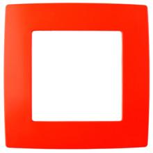 12-5001-23  ЭРА Рамка на 1 пост, Эра12, красный