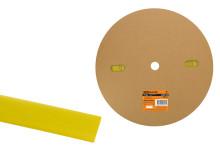 Термоусаживаемая трубка ТУТнг 20/10 желтая (100 м/ролл) TDM