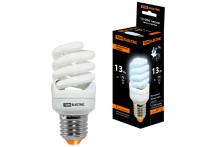 Лампа энергосберегающая КЛЛ-FSТ2-13 Вт-4000 К–Е27 КОМПАКТ (41х95 мм) TDM