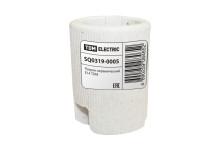 Патрон керамический E14 (контакты медь, гильза медь) TDM