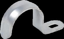 Скоба металл.однолапковая d21-22мм