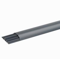 DLPКабель-канал PVC сер. 2м напольный