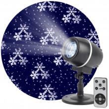 ENIOP-08 ЭРА Проектор LED Снежный вальс, IP44, 220В (12/180)