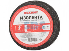 Изолента ХБ REXANT 15 х 0,35 мм, (ролик 30 м/300 г) (1-ПОЛ)