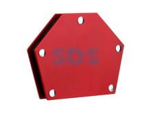 Магнитный угольник-держатель для сварки на 6 углов усилие 22,6 кг REXANT