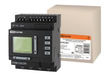 Программируемый логический контроллер ПЛК12A230 с дисплеем 230В TDM