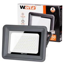 Светодиодный прожектор WFL-150W/06, 5500K, 150 W SMD, IP 65,цвет серый, слим