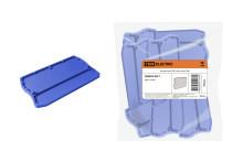 Заглушка для ЗКБ 4 мм2 синяя TDM