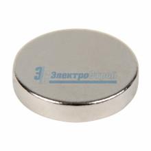 Неодимовый магнит диск 10х2мм сцепление 1 кг (упаковка 14 шт)
