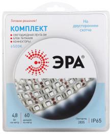 Комплект светодиодной ленты ЭРА 2835kit-4,8-60-12-IP65-6500-5m
