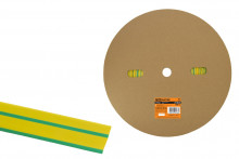 Термоусаживаемая трубка ТУТнг 16/8 желто-зеленая (100 м/ролл) TDM