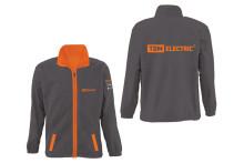 Куртка флисовая серая (XL) TDM
