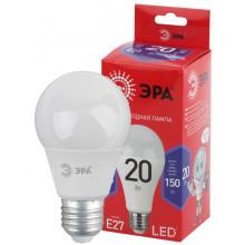 Лампы СВЕТОДИОДНЫЕ ЭКО LED A65-20W-865-E27 R  ЭРА (диод, груша, 20Вт, хол, E27)