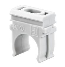 Крепеж-клипса для труб REXANT, Ø16 мм, серый, 100 шт./уп.