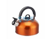 Чайник для плит 2 литра из пищевой нержавеющей стали со свистком  DUX