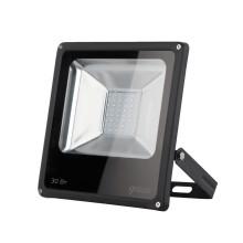 Прожектор светодиодный Gauss Elementary 30W 2100lm IP65 6500К черный 1/10
