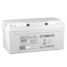 Аккумулятор АКБ 12-75 Энергия