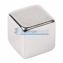 Неодимовый магнит куб 10*10*10мм сцепление 4,5 кг (Упаковка 2 шт)
