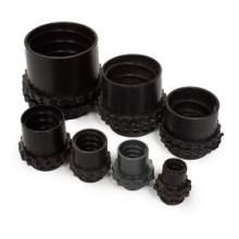 Муфта вводная для металлорукава пластиковая МВП-25  (1