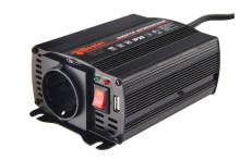 Преобразователь инверторный а/м WESTER MSW250 12-220B+USB; 250Вт модифицированная синусоила