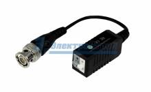 Приемопередатчик пассивный AHD, CVI, TVI  (комплект 2 шт), цена за 1 шт.  PROconnect