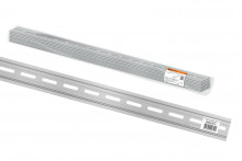 DIN-рейка алюминиевая усиленная 35х7,5х1,5х2000мм TDM