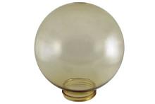 Рассеиватель шар ПММА 200 мм золотой (резьба А 85) TDM