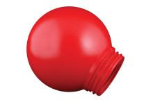 Рассеиватель РПА  85-150 шар-пластик (красный) TDM