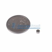 Неодимовый магнит диск 3х2мм сцепление 0,15 кг (упаковка 200 шт)