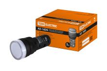 Лампа AD-16DS(LED)матрица d16мм белый 36В AC/DC TDM