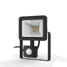 Прожектор светодиодный Gauss Elementary-S 20W 1300lm IP65 6500К черный с датчиком движения 1/20