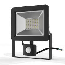 Прожектор светодиодный Gauss Elementary-S 50W 3450lm IP65 6500К черный с датчиком движения 1/10