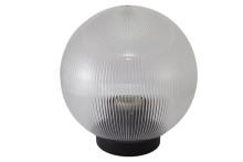 Светильник НТУ 02-100-353 шар прозрачный с огранкой d=350 мм TDM