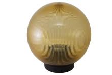 Светильник НТУ 02-100-354 шар золотой с огранкой d=350 мм TDM