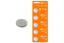 Элемент питания CR2016 Lithium 3V BP-5 TDM