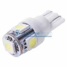 Лампочка Т10 пластиковая (5 светодиодов)