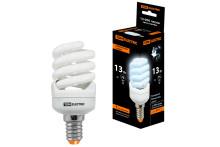 Лампа энергосберегающая КЛЛ-FSТ2-13 Вт-4000 К–Е14 КОМПАКТ (41х95 мм) TDM
