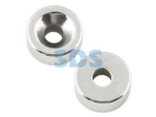 Неодимовый магнитный диск 20х5 мм с зенковкой 10х4,5 мм (упаковка 2 шт.)