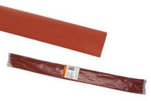 Термоусаживаемая трубка ТУТнг 40/20 красная по 1м (25 м/упак) TDM
