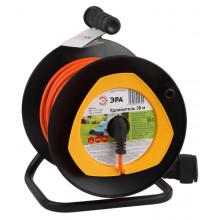 Удлинитель силовой ЭРА RPx-1-2x1-30m на п. катушке б/з 1 гн 30м ПВС 2x1