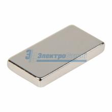 Неодимовый магнит прямоугольник 15х8х2мм сцепление 1,1 кг (упаковка 8 шт)