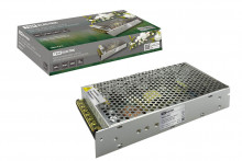 Блокпитания200Вт-12В-IP20для светодиодных лент и модулей, металлTDM
