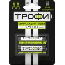 Аккумуляторная батарея ТРОФИ  HR6-2BL 2100 mAh