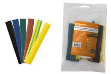 Термоусаживаемая трубка ТУТнг 12/6 набор (7 цветов по 3 шт. 100мм) TDM