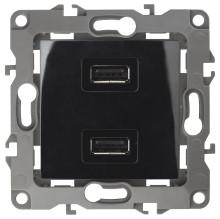 12-4110-06  ЭРА Устройство зарядное USB, 230В/5В-2100мА, IP20, Эра12, чёрный