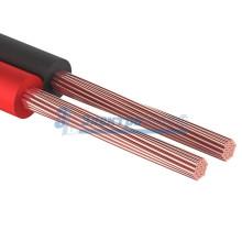 Кабель акустический, 2х0.35 мм², красно-черный, 100 м.  REXANT