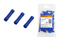 Гильза соединительная изолированная ГСИ 2,5 синяя (50 шт) TDM