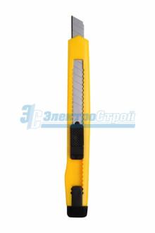 Нож с сегментированным лезвием  9 мм, корпус  пластик, c клипсой Rexant