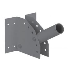 Кронштейн SPP-AC2-0-230-060 ЭРА Кронштейн для уличного светильника с перемен углом 230*150*130 d60mm